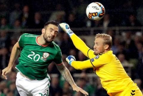 گزیده بازی دانمارک - ایرلند