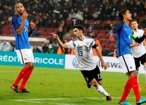 گزیده بازی آلمان - فرانسه