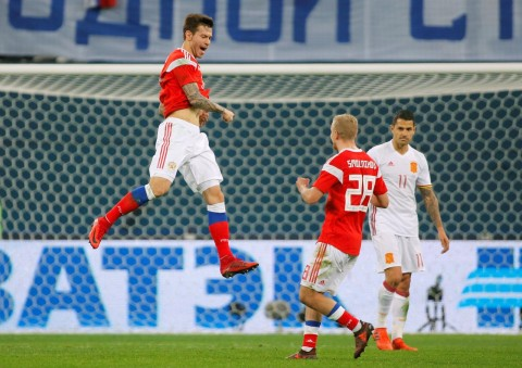 گزیده بازی روسیه - اسپانیا