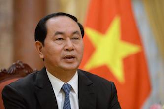 پیام تسلیت رئیسجمهوری ویتنام به روحانی