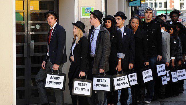 افزایش کلی نرخ بیکاری جوانان در دنیا