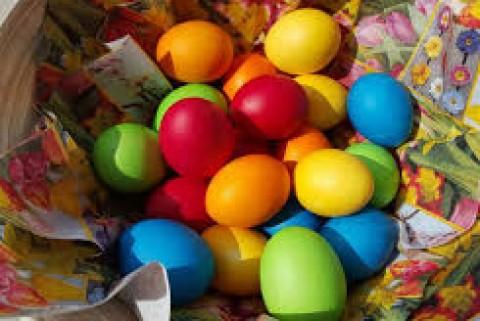 طرز تهیه تخم مرغ رنگی