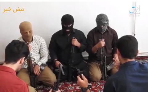 تصاویر ضبط شده داعش از عاملان حملات تروریستی تهران