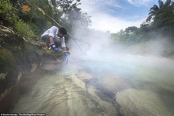 رودخانهای که همه چیز را آب پز میکند!