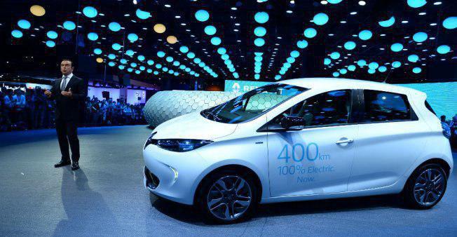 سرمایه گذاری گسترده شرکت رنو بر روی خودروهای برقی