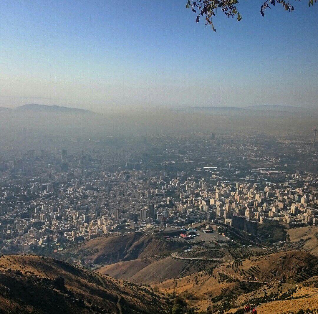 تهران غبار آلود/ایستگاه سه توچال