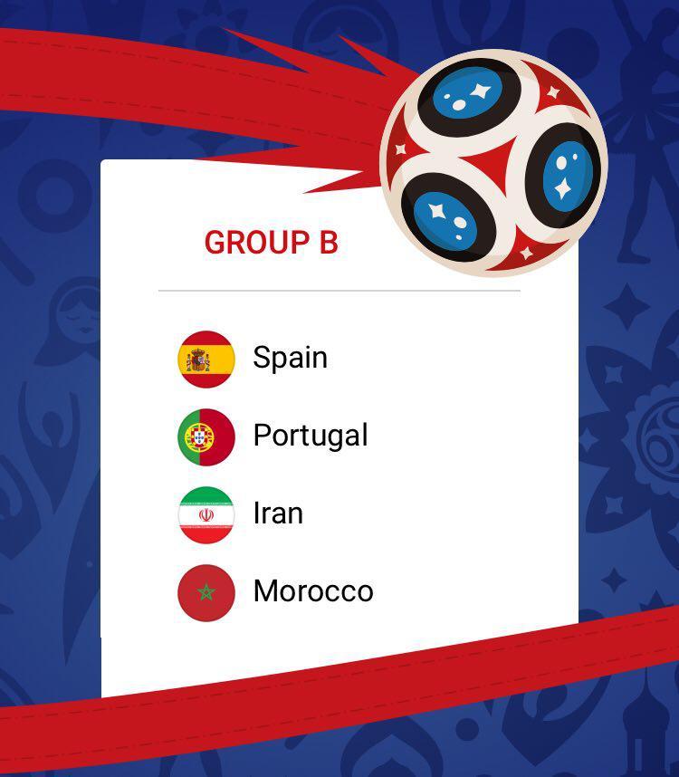 نظرتان درباره گروه تیم ملی در جامجهانی چیست؟