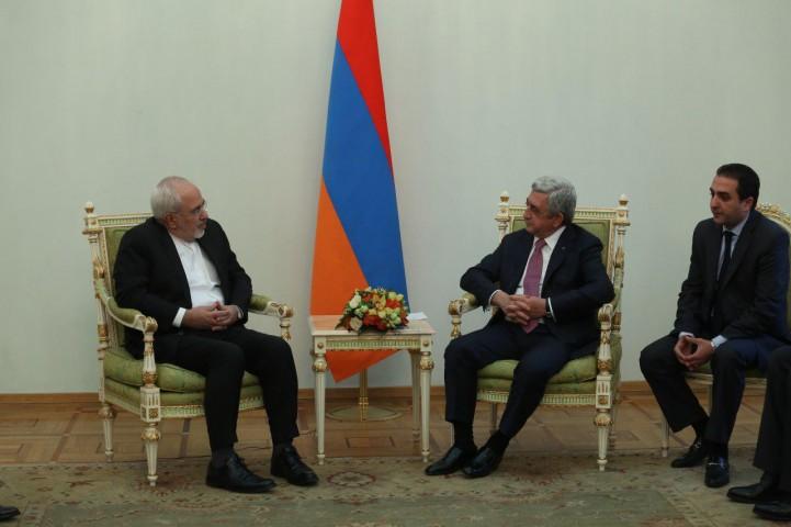 در سفر ظریف به ارمنستان چه گذشت؟