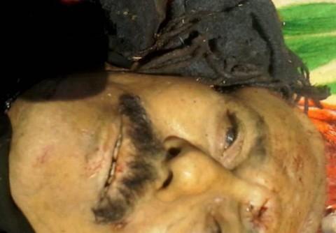 علی عبدالله صالح پس از کشته شدن