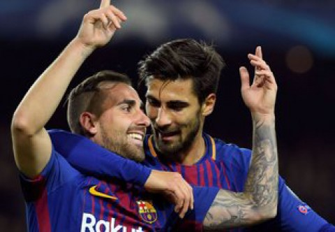 گزیده بازی بارسلونا - اسپورتینگ
