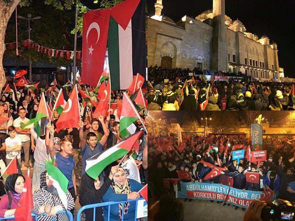 حماس: تصمیم ترامپ درباره قدس، درهای جهنم را باز میکند/ماکرون: تصمیم ترامپ تاسف برانگیز است/محمود عباس: قدس تا ابد پایتخت فلسطین خواهد بود