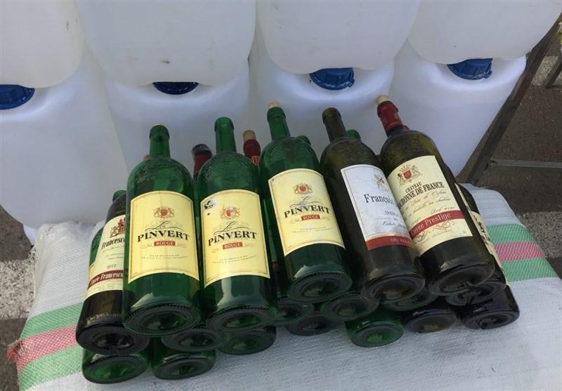 کشف ۳۳۰ هزار لیتر مشروبات الکلی در جنوب تهران