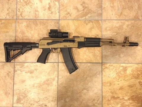 نقد و بررسی سلاح سایگا AK47