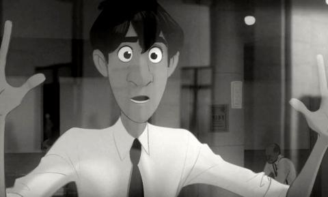 انیمیشن کوتاه مرد کاغذی