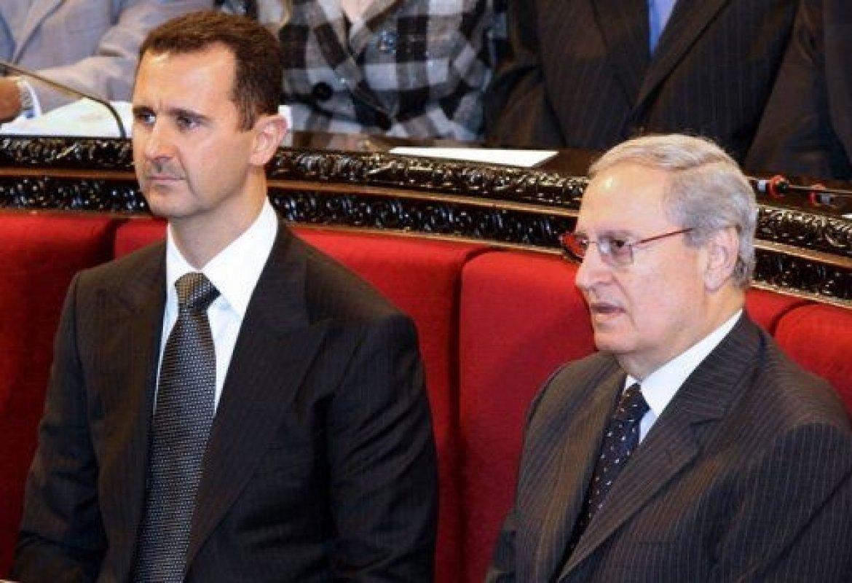 نتیجه تصویری برای فاروق الشرع بشار اسد