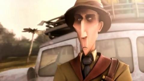 انیمیشن کوتاه صورت سیاه