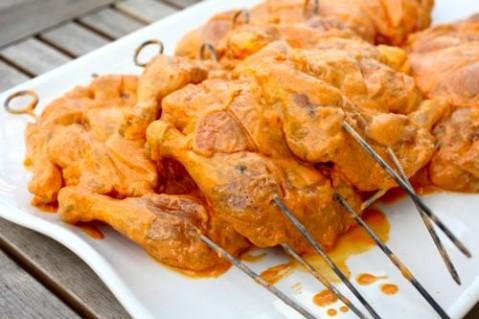 طرز تهیه تیکای مرغ ماسالا