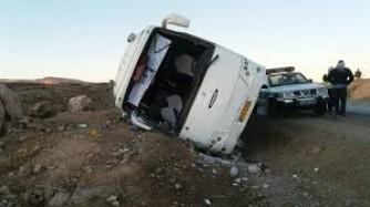 اتوبوس راهیان نور دانش آموزان در خوزستان واژگون شد/ تعداد کشته ها 4 تن اعلام شد