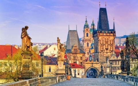 بازی رنگ ها در پراگ
