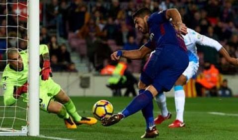 گزیده بازی بارسلونا - دیپورتیوو لاکرونیا