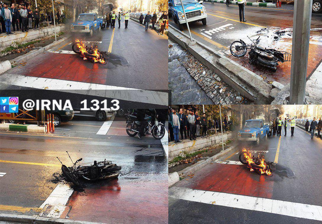 حکم بقایی صادر شد/نظر فرزندکروبی درباره رای دادن به روحانی/مردی معترض موتورش را در خیابان ولیعصر به آتش کشید/فردوسیپور: چرا به ترکیه و اردوغان باج دادیم؟