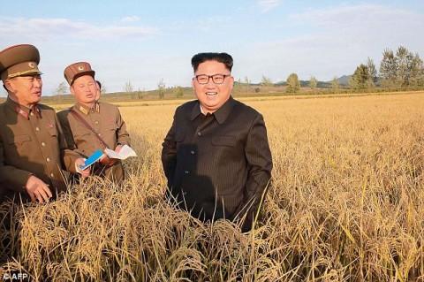 پیاده روی رهبر کره شمالی در نیویورک