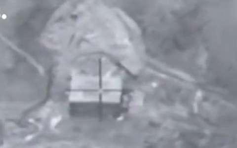 لحظات حمله اسرائیل به تاسیسات اتمی سوریه