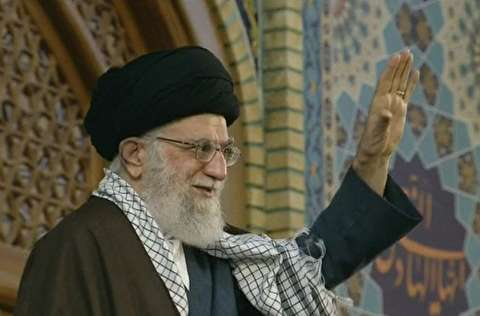 سخنرانی رهبر انقلاب در حرم مطهر رضوی (ع)