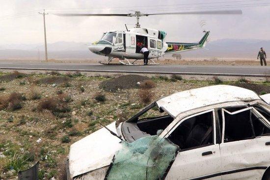 تصادف خونبار در آزادراه قم – تهران