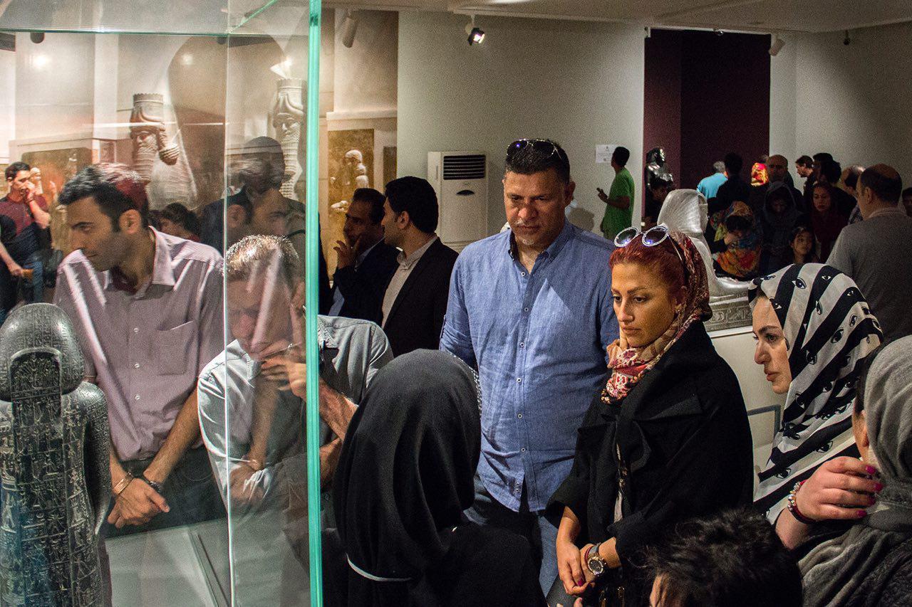 علي دايي از موزه لوور بازدید کرد