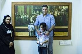 عکس هایی از بازدیدخانوادگی علی دایی از موزه لوور