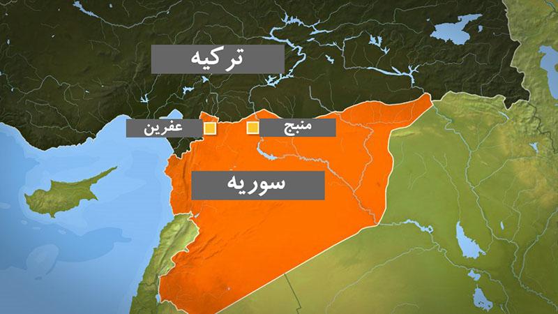 تلاش ترکیه برای الحاق عفرین سوریه به «هاتای»/تعلیق کمک آمریکا برای بازسازی سوریه/بالا گرفتن تنشها بین ترکیه و فرانسه