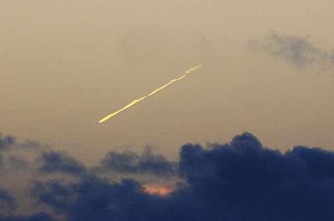 لحظه متلاشی شدن ایستگاه فضایی چین