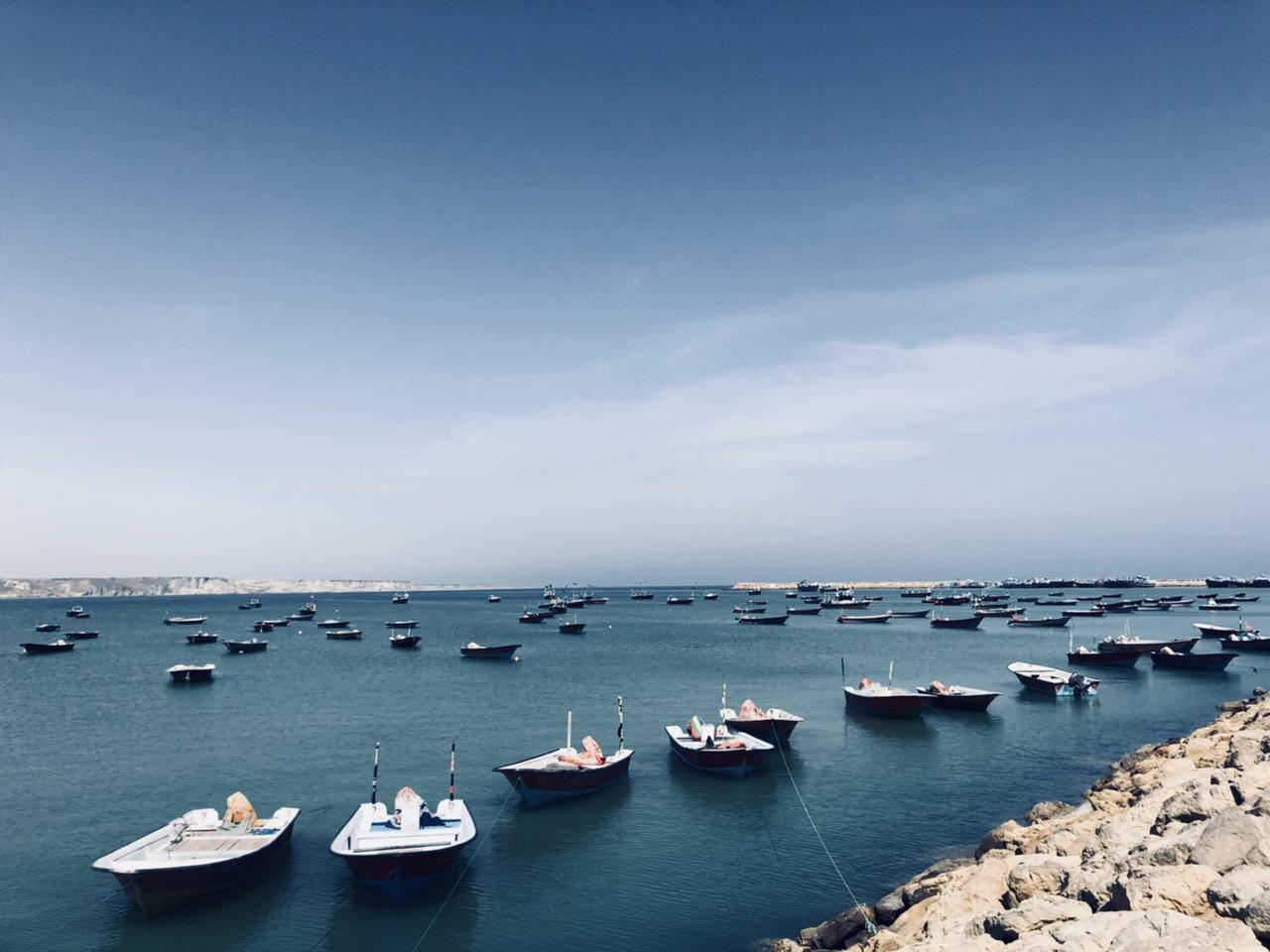 ساحل اسکله بریس جنوب شرقیترین نقطه ایران