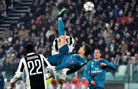 گزیده رئال مادرید - یوونتوس و درخشش رونالدو
