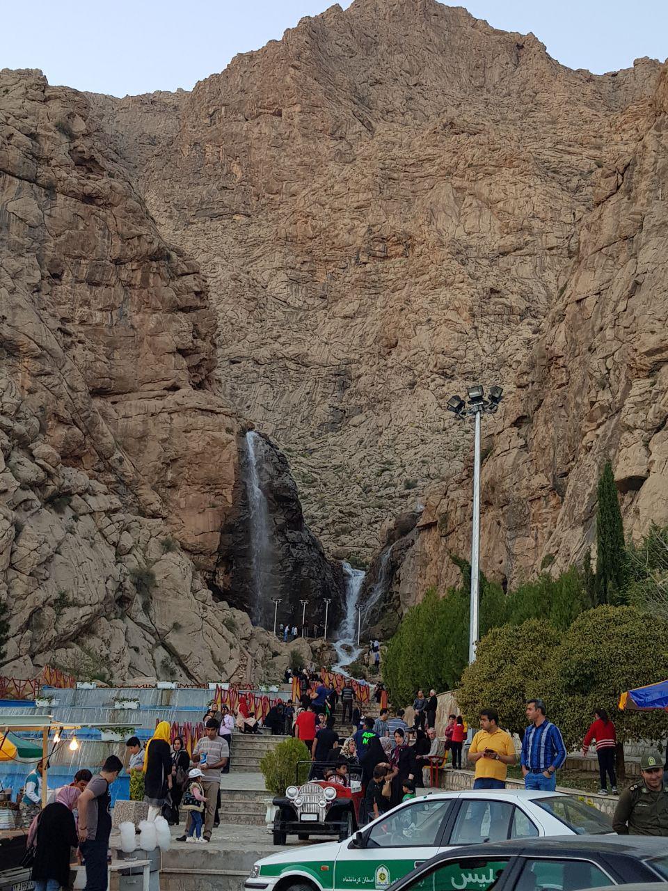 سیزده بدر پارک کوهستان کرمانشاه