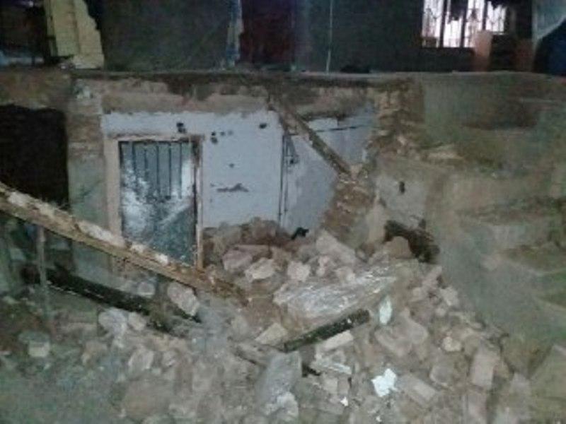 انفجاز گاز یک منزل مسکونی را تخریب کرد