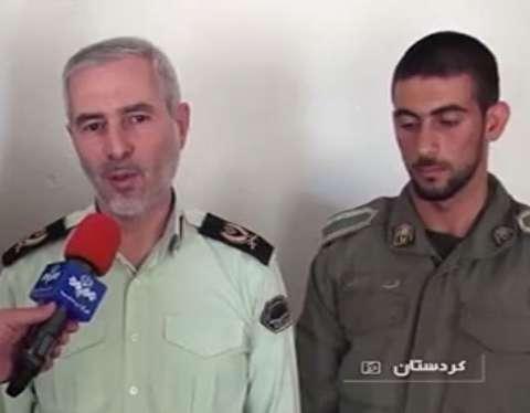 نجات جان 5 تن از مرگ توسط سرباز وظیفه