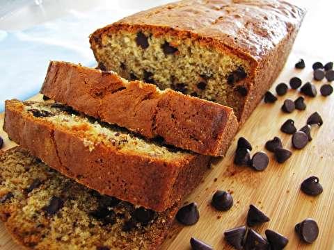 دستور پخت نان موزی با تکههای شکلاتی
