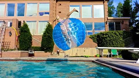 زندگی در حباب پلاستیکی!