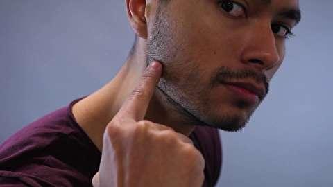 چگونه خط فک مردانه و قوی داشته باشیم؟