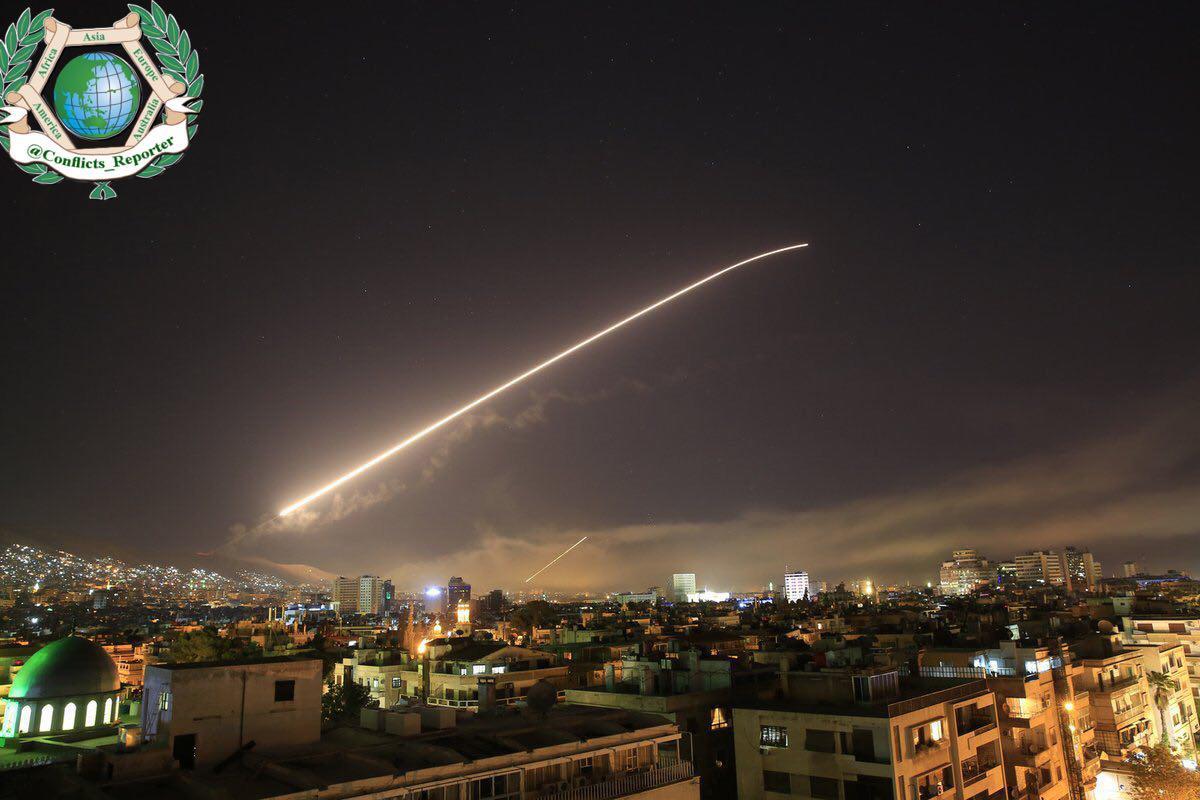 حمله هوایی آمریکا و متحدانش به سوریه/موج اول حملات پایان یافت