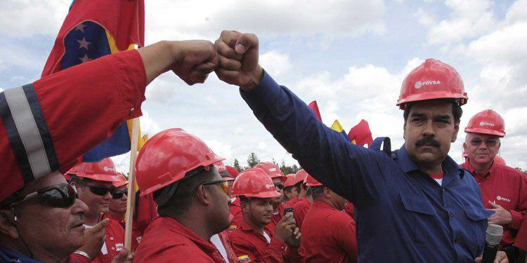 عزم مادورو بر توقف کاهش چشمگیر عرضه ی نفت
