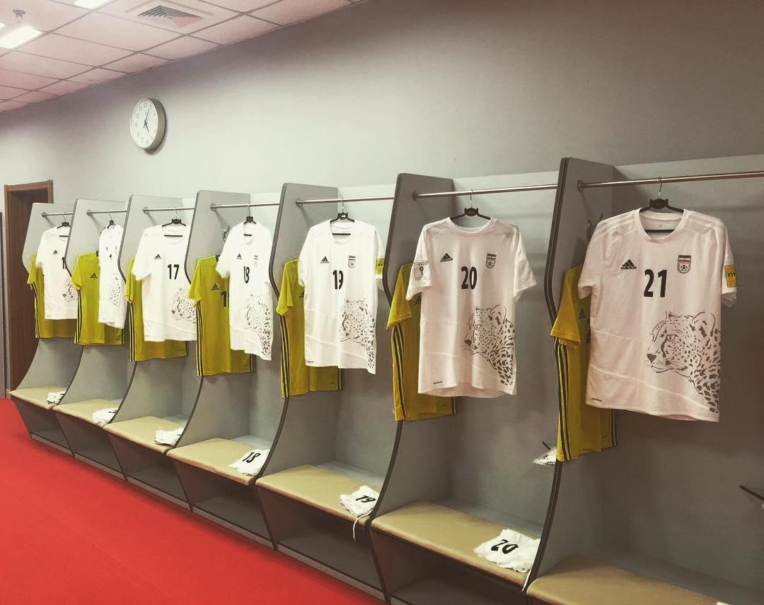 به بهانه واهی؛طرح یوز ایرانی از روی پیراهن تیم ملی حذف شد