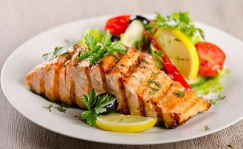 طرز تهیه سالمون کبابی