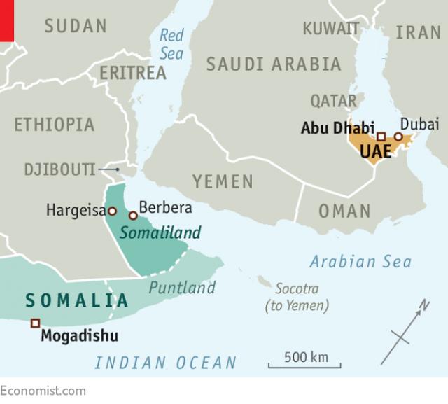 برنامه امارات برای تجزیه یک کشور آفریقایی و ساخت پایگاه نظامی در کشور جدید!