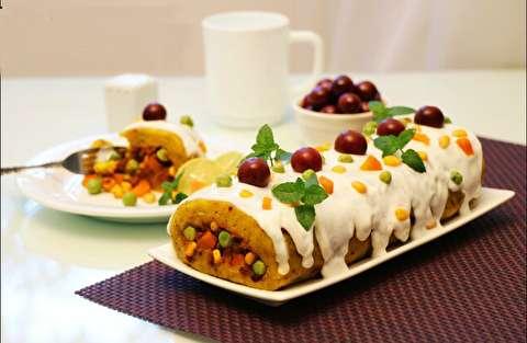 طرز تهیه الویه شیرازی و سس مخصوص