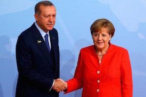 تاکید اردوغان و مرکل بر حفظ تمامیت ارضی سوریه