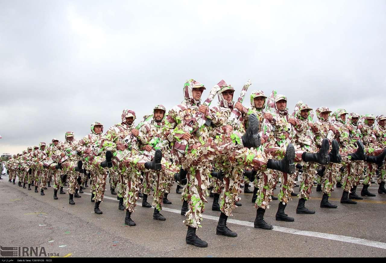 تمرین رژه روز ارتش در مشهد - تابناک | TABNAK