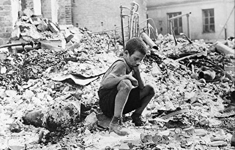 بمباران ورشو توسط آلمان